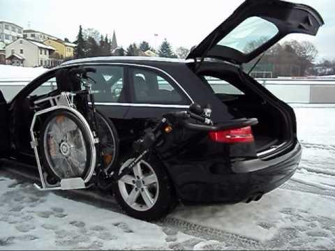 Trotz Behinderung mit dem Auto mobil ROBOT 201