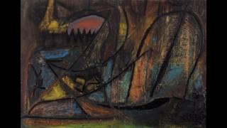 Jean-Michel Atlan  讓 - 米歇爾·阿特朗  (1913-1960)  Art Informel  COBRA  French