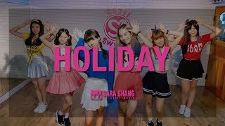 Girls' Generation - 'Holiday' Dance Practice (Cover by Sara Shang + Super Sweet students)