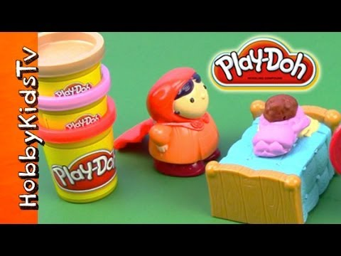 PLAY DOH Little Red Riding Hood ★ Box Open ★ Storytime Kids Video