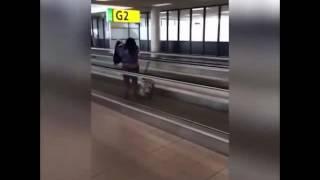 Funny Travelator encounter!