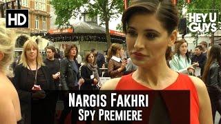 Nargis Fakhri Interview - Spy Premiere