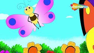 Titli Udi (तितली उड़ी)  | Hindi Rhymes for Children | HD