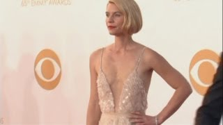 Claire Danes' Emmy dress: Claire's controversial new bob and dress on The Emmys 2013 red carpet