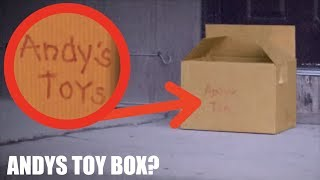 I FOUND ANDYS TOY BOX ON MY PORCH! *Real Life Toy Story*