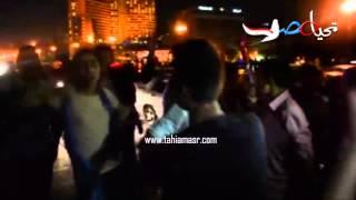 وصلة رقص لشباب علي كوبري قصر النيل