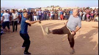 Combat de matraque 25  مبارزة بالعصا