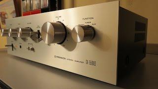 Pioneer SA-5500 II Stereo Amplifier Review and Repair