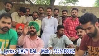 SalFas song by Singer Sukhjinder Sukh Lyrics GAVY BAL