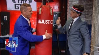 John Cena Helps Stephen Defeat Butch the Studio Bully