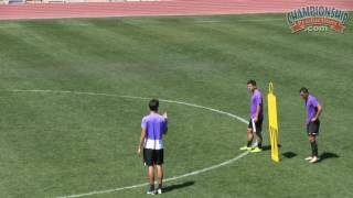 Soccer Conditioning Drills and Games with a Ball - Ben Paneccasio