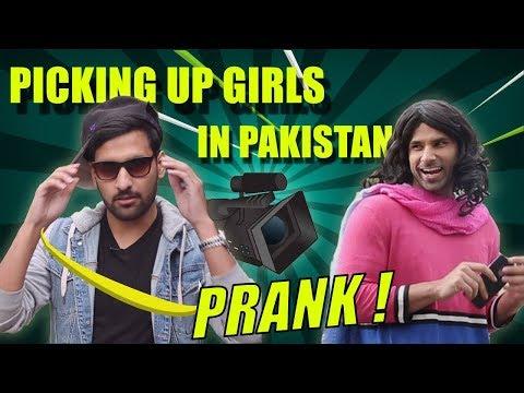 PICKING UP GIRLS IN PAKISTAN PRANK! FT. NASREEN