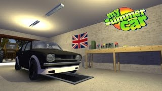 My Summer Car #1 - Early Access Build 181 - Start To Finnish Building A Car