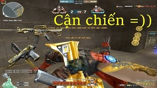 [ Bình Luận CF ] M4A1-S-Noble Gold - Tiền Zombie v4