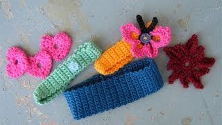 Download How to crochet a basic headband or hairband, easy 3Gp Mp4
