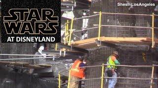 Disneyland - 10/20/17 Star Wars: Galaxy's Edge Construction view from Big Thunder Mountain Trail