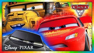 CARS 3: Driven to Win ★ JACKSON STORM & MISS FRITTER ★ ENGLISH ★ full mini movie from videogame