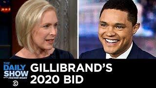 Kirsten Gillibrand's 2020 Bid, YouTube's New Ban & Karen Pence's Anti-LGBTQ Gig | The Daily Show