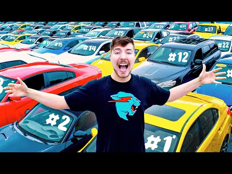 I Gave My 40 000 000th Subscriber 40 Cars
