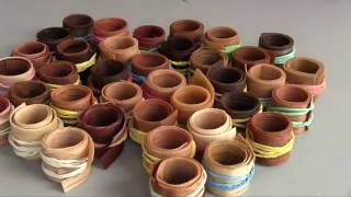 What wood is best for wood rings? How to make wooden rings / 50 Veneer Sheet Test