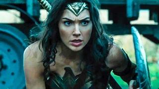 WONDER WOMAN All Trailer + Movie Clips (2017)