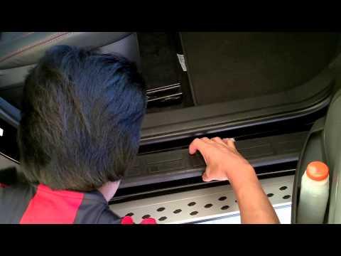 SOLEIRA de proteção da porta da ECOSPORT Parte 5