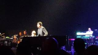 Stevie Wonder & Lionel Richie - We Are the World live 2016 & message of peace from Stevie