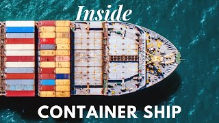 Living on Container Ship | Inside the bridge | Life at Sea
