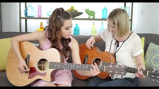 A First for My Mom: Learning Guitar | Venus with Megan Nicole