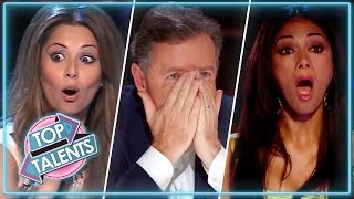 Angry Acts: Angriest Contestants | X Factor, Got Talent & Idols | Top Talents