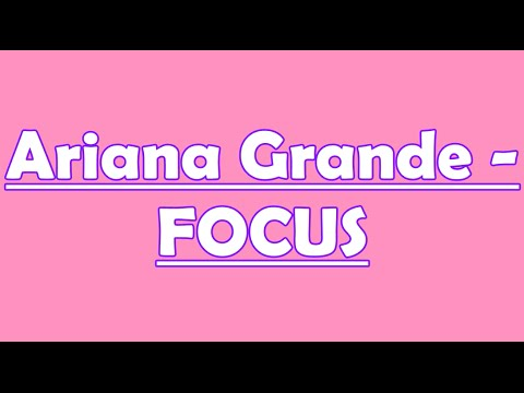 Ariana Grande| FOCUS| Cover by Gracel
