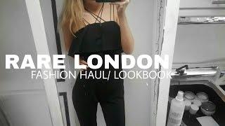 RARE LONDON | LOOK BOOK