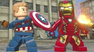 LEGO Marvel's Avengers - All Civil War DLC Free Roam (Black Panther, Crossbones, Mark 46, etc)