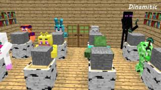 FNAF Monster School: Build Battle Sculptors - Minecraft Animation (Five Nights At Freddy's)