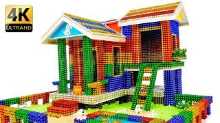 DIY - How To Build Amazing Puppy Dog House With Magnetic Balls - 100% Satisfaction - Magnet Balls