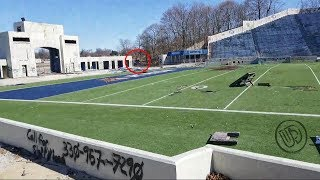 Abandoned College Football Stadium (Live stream)