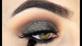 How to make up Smokey eyes