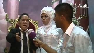 أصغر عروسين فيديو مضحك جدا