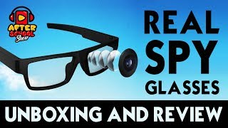 ViView G20.2018 Video Camera Glasses HD - Unboxing & Review