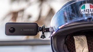 Insta 360 One X On A Motorcycle   How Do You Get EPIC Footage?