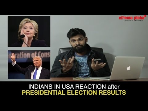 Trump Victory Reaction by Indians
