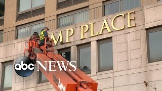 Trump Name Removed from NY Apartment Complex