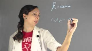 What Is the Balanced Equation for the Combustion of Acetone in Air? : Chemistry Lessons