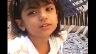 Desi little girl mimicry Animals!