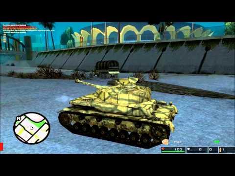 [HD] [MTA SA 1.4] SAAW script testing: FINAL Panzer IV ausf. H