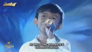 Keifer Sanchez   Anak Tawag ng Tanghalan Kids