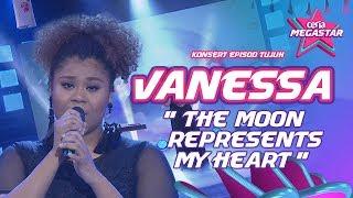 Standing ovation untuk Vanessa dengan The Moon Represents My Heart | Teresa Teng | Ceria Megastar