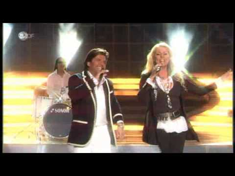 SANDRA feat THOMAS ANDERS The Night Is Still Young Willkommen bei Carmen Nebel ZDF 09 05