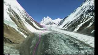 Climb K2 in 3D!