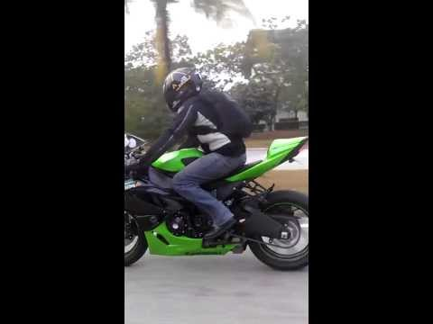TheSighbored spotted with his new zx6r...